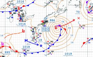 1800UTC 30 August Hurricane Force Storm