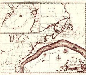 The Gulf Stream as per Ben Franklin